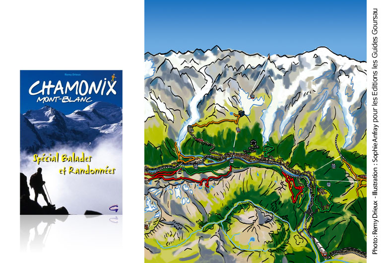 Photo de couverture d'un topo-guide Chamonix Mont Blanc