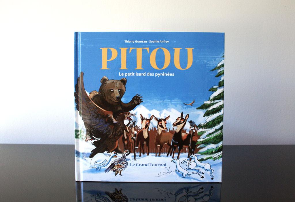 Photo du troisieme album de Pitou le petit isard des Pyrénées.