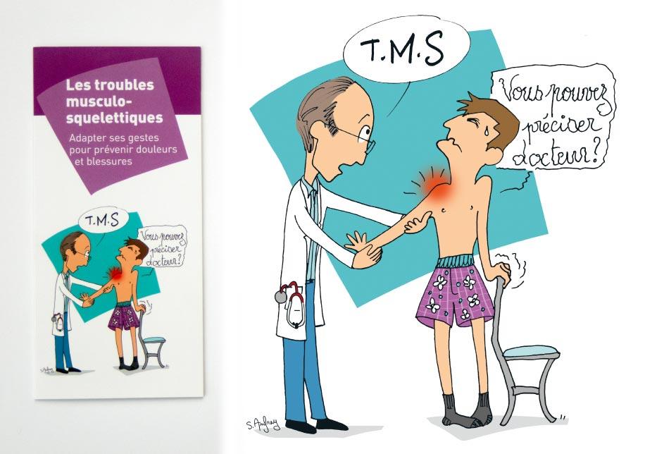 Les troubles musculo-squelettiques recouvrent un grand nombre de pathologie et de lésions d'origine professionelle.